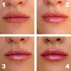 блеск для губ объем