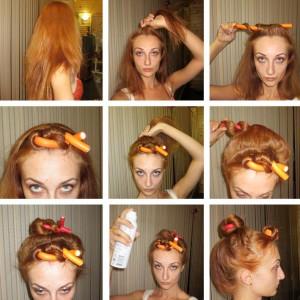 завивка волос фото