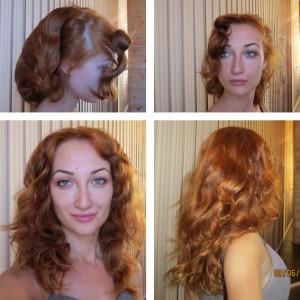 завиввка волос результат
