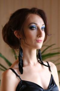 вечерний макияж, Кренева Ольга