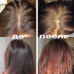 бесцветная хна фото до и после