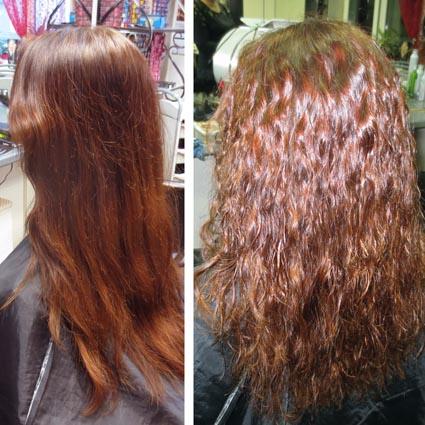 Химическая завивка волос отзывы фото