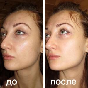 маска-пленка эффект