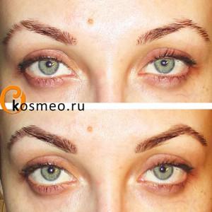 перманентное окрашивание бровей, Godefroy Instant Eyebrow Tint