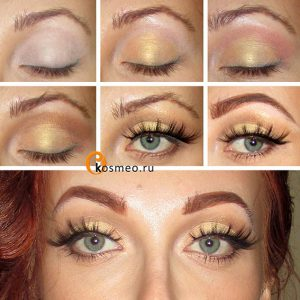 аквамакияж глаз