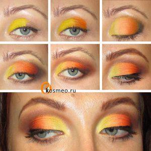 гелевый макияж