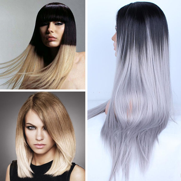 Окрашивание волос омбре 2017